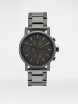 DKNY SoHo Oversized Gunmetal Chronograph Watch, Men's