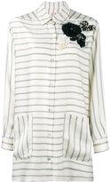 Antonio Marras oversized corsage shirt - women - Polyester - 40
