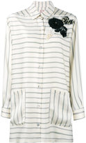 Antonio Marras oversized corsage shirt - women - Polyester - 44