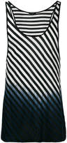 Unconditional striped vest