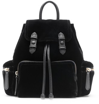 Banana Republic Velvet Mini Backpack