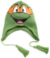 Bioworld Unisex-Child 8-20 Tmnt Michael Angelo Big Face Laplander Cap