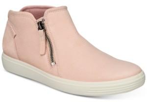 Ecco Women's Soft 7 Zip Booties Women's Shoes