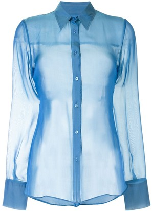 Georgia Alice Sheer Slim Shirt