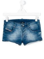 Diesel stretch denim shorts - kids - Cotton/Polyester/Spandex/Elastane - 16 yrs