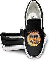 PTCY Design PTCY GORILLAZ Rock Band Fashion Unisex Flat Canvas Shoes Sneaker