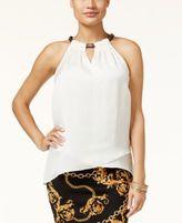 Thalia Sodi Chain-Neck Top, Only at Macy's