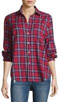 Frank And Eileen Eileen Plaid Button-Front Cotton shirt