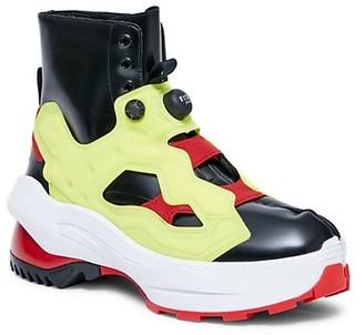 Maison Margiela x Reebok Tabi Instapump Fury Low Boots