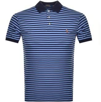 Ralph Lauren Short Sleeved Polo T Shirt Blue