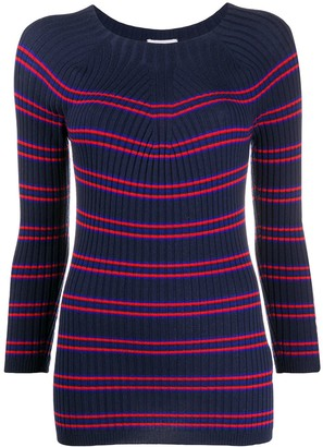 Escada Sport Knitted Striped Jumper