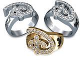 Disney Diamond Ring for Women by Jostens - Personalizable