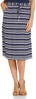 Sportscraft Poppy Stripe Split Skirt