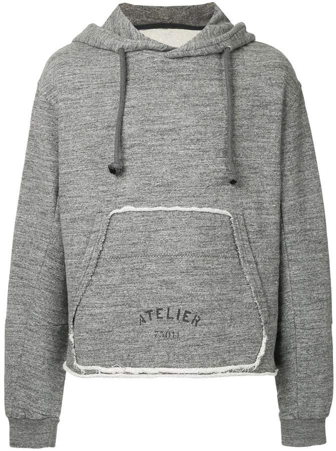 Maison Margiela Atelier hooded sweatshirt
