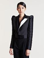 Lanvin Women's Contrast Panel Cropped Jacket