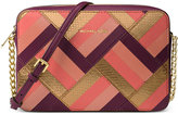 MICHAEL Michael Kors Marquetry Patchwork Jet Set Travel Large East West Crossbody