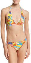 Missoni Painterly Print Two-Piece Bikini Set, Multicolor