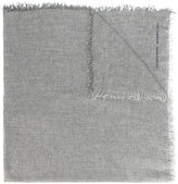 Ermanno Scervino frayed edges scarf