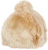 Albertus Swanepoel Women's Faux-Fur Beanie-NUDE