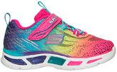Skechers Girls' Toddler S Lights: Litebeam Running Shoes