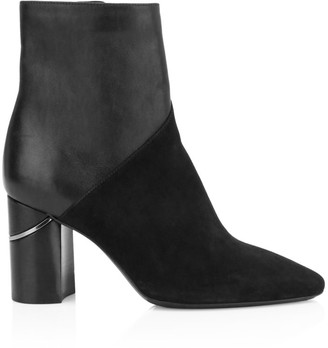 Aquatalia Palma Leather & Suede Ankle Boots
