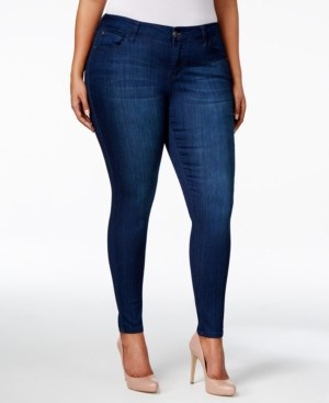 Celebrity Pink Petite Plus Size Infinite Stretch Dawson Super-Skinny Jeans