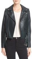 Parker 'Cooper' Leather Moto Jacket