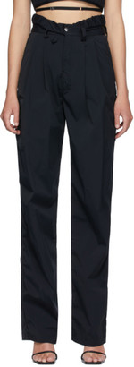 Markoo Black The Pleat Trousers