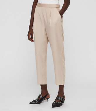 AllSaints Alva Tapered High-Rise Trousers