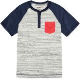 Arizona Short-Sleeve Pocket Henley - Boys 8-20