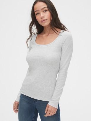 Gap Pointelle Square-Neck T-Shirt