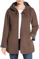 Ellen Tracy Petite Women's Double Face A-Line Jacket
