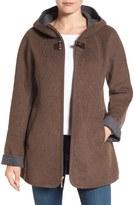 Ellen Tracy Women's Double Face A-Line Jacket