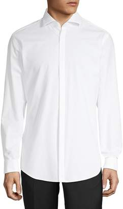 HUGO Spread Collar Long-Sleeve Shirt
