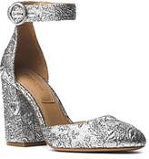 Michael Kors Women's Rena Brocade Ankle Strap Pumps