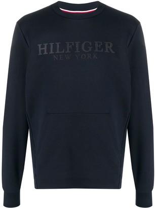 Tommy Hilfiger Branded Long Sleeve Top