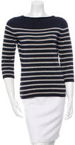Jean Paul Gaultier Striped Long Sleeve Top
