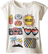 Little Marc Jacobs Jersey Tee Shirt with Mouse or Beach Supplies Girl's T Shirt