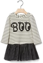 Gap Boo stripe tutu dress