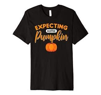 Pumpkin Patch Mens Halloween Fall Pregnancy Announcement Baby Premium T-Shirt