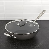 Crate & Barrel All-Clad ® HA1 Hard-Anodized Chef's Pan with Lid