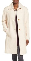 Gallery Women's Basket Weave Three Quarter Coat
