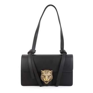 Gucci Animalier Black Leather Handbags