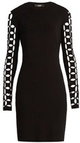 VERSUS VERSACE Cut-out sleeves dress