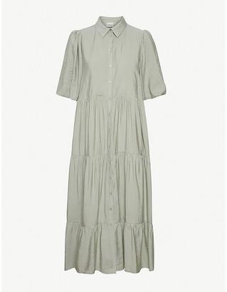 Gestuz Kirita ruffled crepe dress