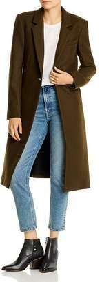Rag & Bone Wool-Blend Single-Button Long Coat
