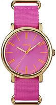 Timex Originals Brights | Pink Minimal Dial & Nylon Strap | Casual Watch T2P364