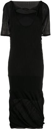 Bottega Veneta Layered Shift Dress