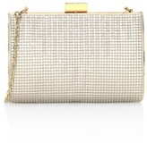 Whiting & Davis Crystal Drips Clutch