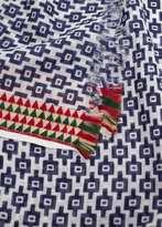 MANGO Contrast trim scarf
